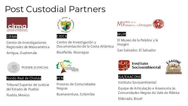 CIRMA Centro de Investigaciones Regionales de Mesoamérica Antigua, Guatemala CIDCA Centro de Investigación y Documentación...