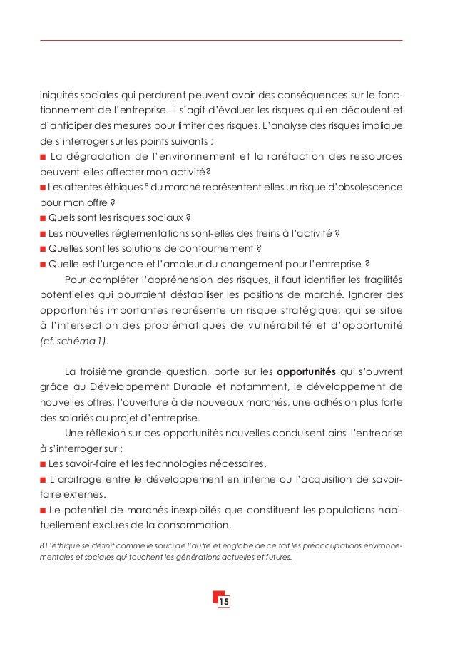 Livre blanc sur la planification strat gique de la rse for Portent of degradation