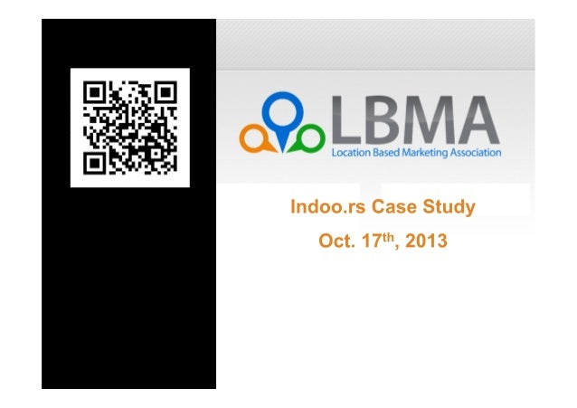 Case Study  Indoor Positioning for the Public Service Sector