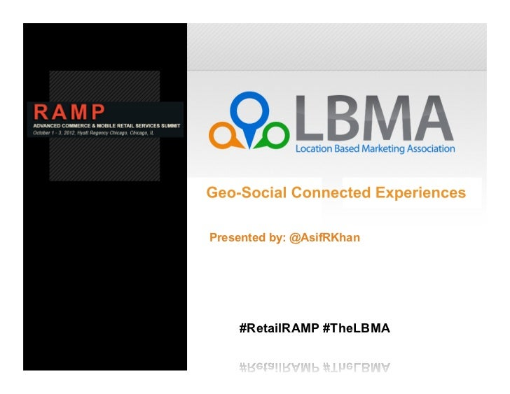 Presented by: @AsifRKhan    #RetailRAMP #TheLBMA