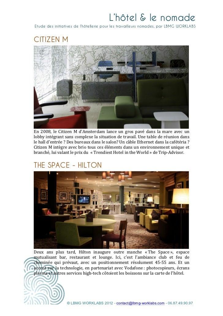Lbmg   l'hotel & le nomade Slide 2