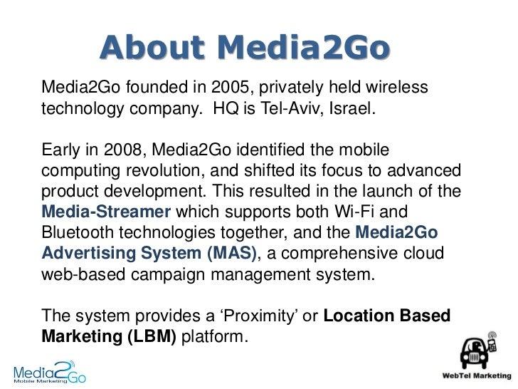 Location Based Marketing from Media2Go Slide 3