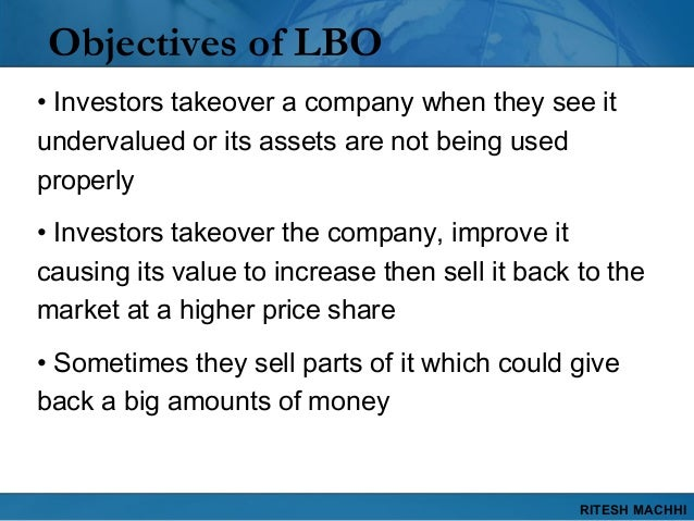 rjr nabisco lbo analysis