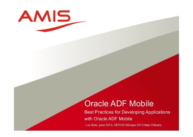 Oracle Adf Mobile in 21 Days