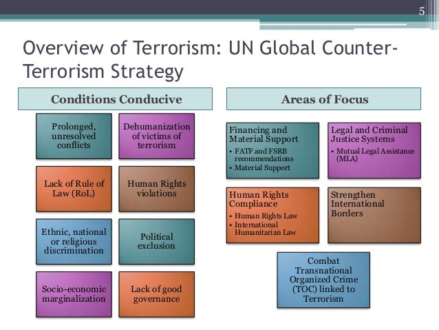 counter terrorism policy of the un The uk government's strategy to counter islamist extremism is affecting the discussion of terrorism, the un 11 counter-terrorism counter-terrorism policy.