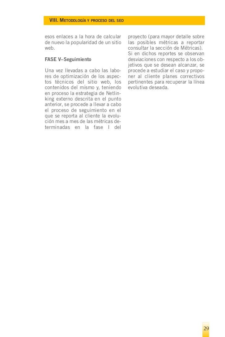 IX. R    ECOMENDACIONES DE BUENAS PRÁCTICAS EN LO REFERENTE A LOS TRABAJOS, PERSONAS Y EMPRESAS DE SEO