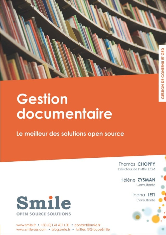 """""""GED : les meilleures                                       solutions open                       source""""                  ..."""