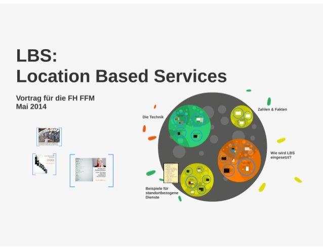 LBS: Location Based Services - eine Übersicht (Mai 2014)