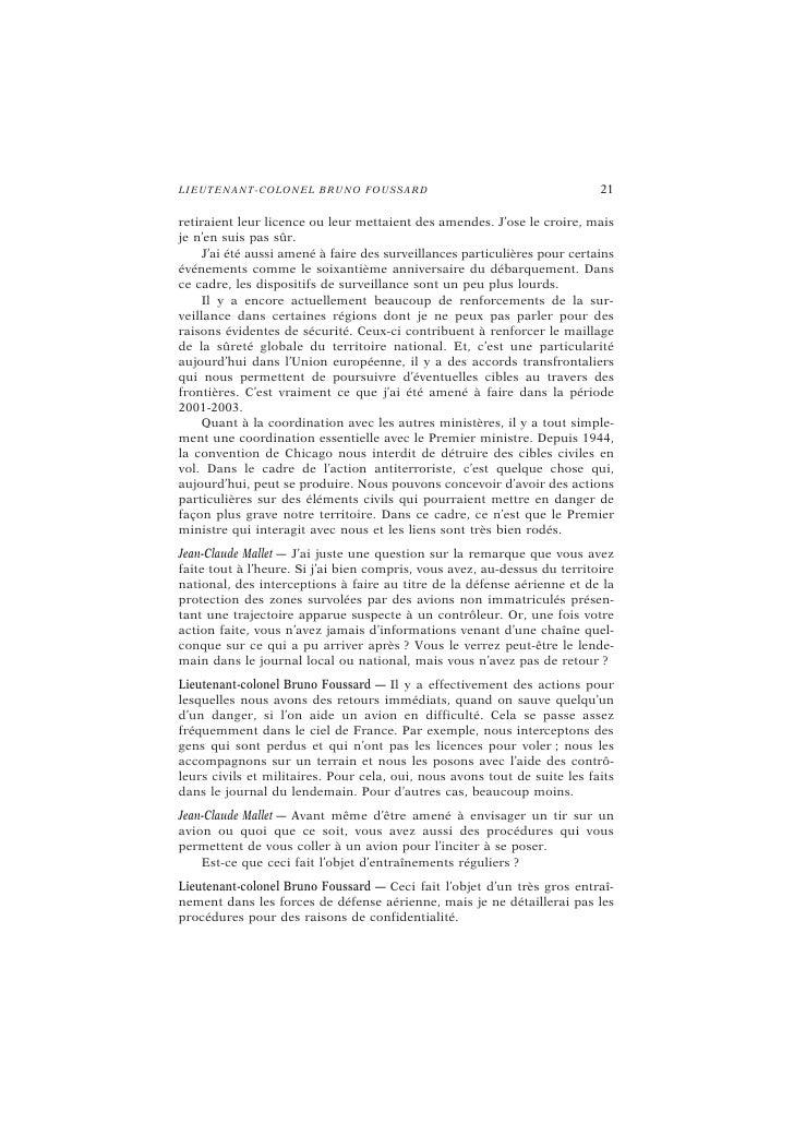 24                                            L E L I VR E B L A NC : L ES D ÉB A TS   Jean-Claude Mallet — Vous pouvez no...