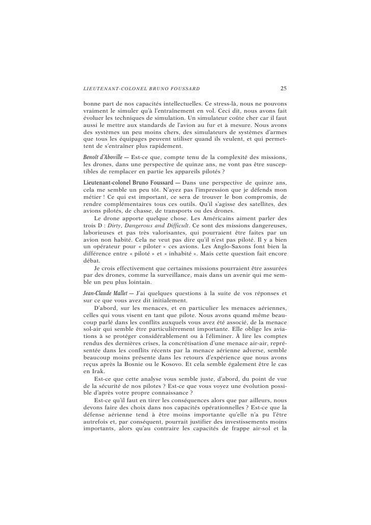 28                                           L E L I VR E B L A NC : L ES D ÉB A TS   financier, a été fait dans ce domain...