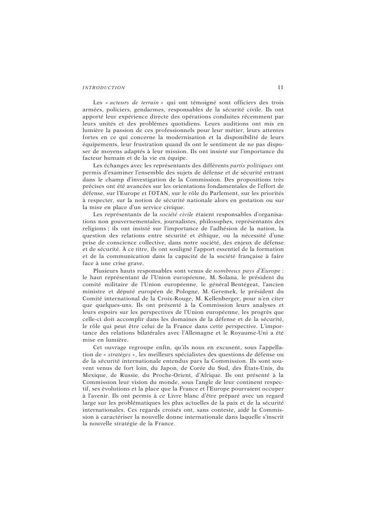 LES « ACTEURS DE TERRAIN »