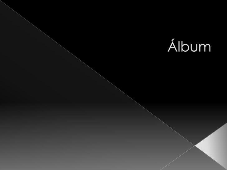 Álbum<br />