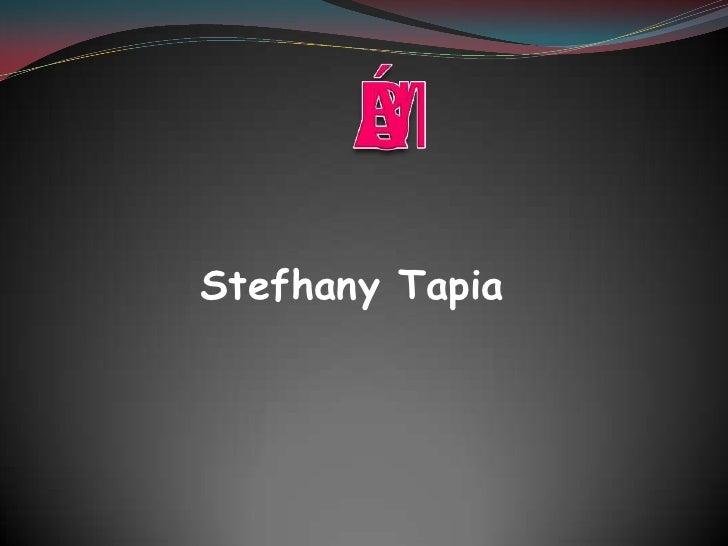 Stefhany Tapia