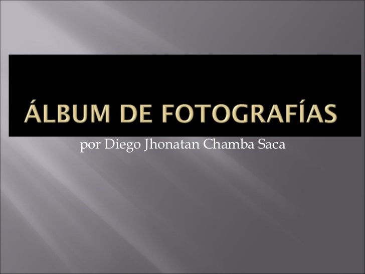 por Diego Jhonatan Chamba Saca