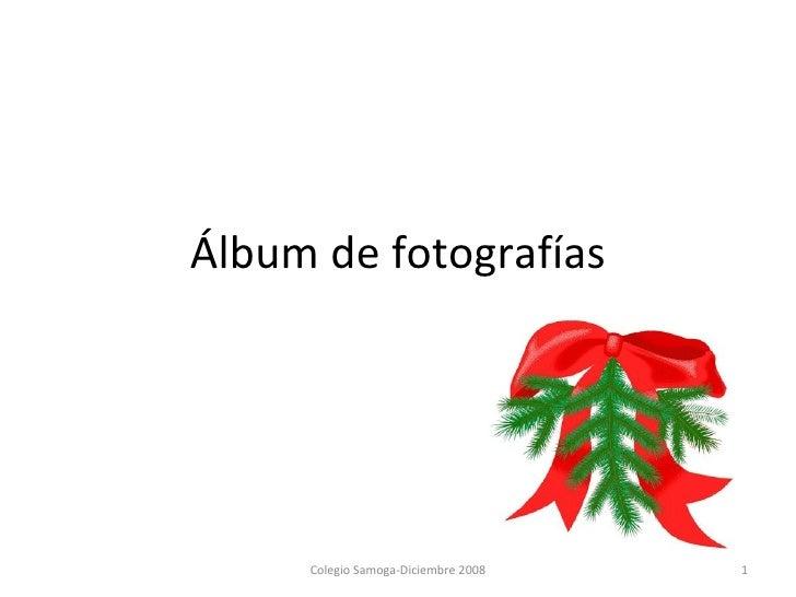Álbum de fotografías Colegio Samoga-Diciembre 2008
