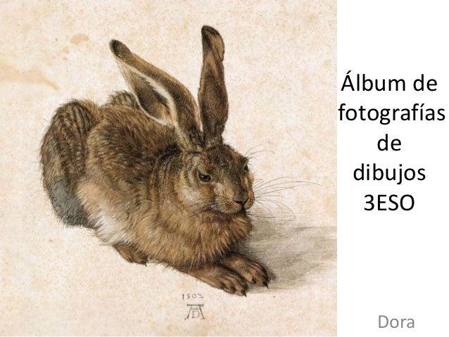 Álbum de fotografías de dibujos 3ESO Dora