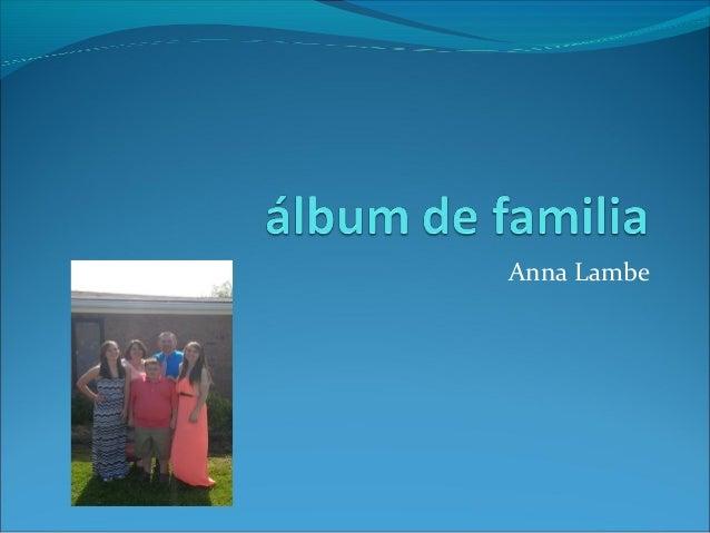 Anna Lambe