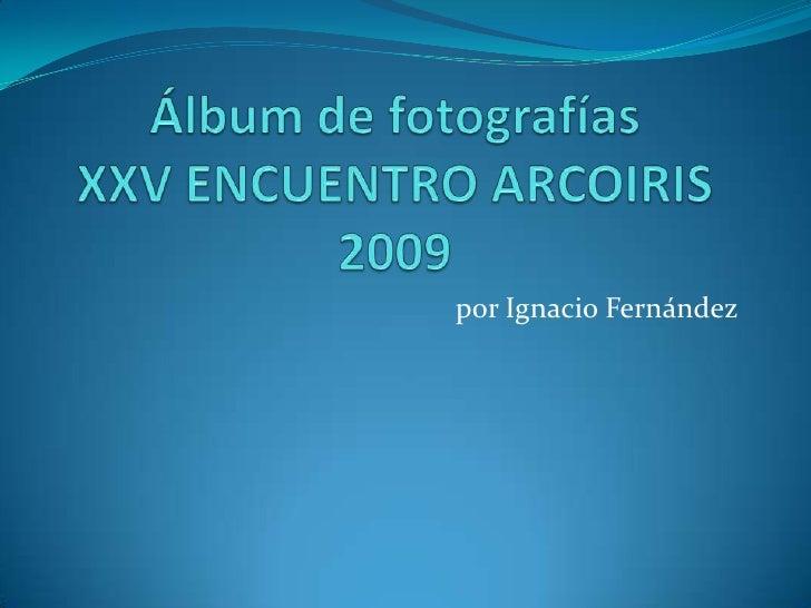 por Ignacio Fernández