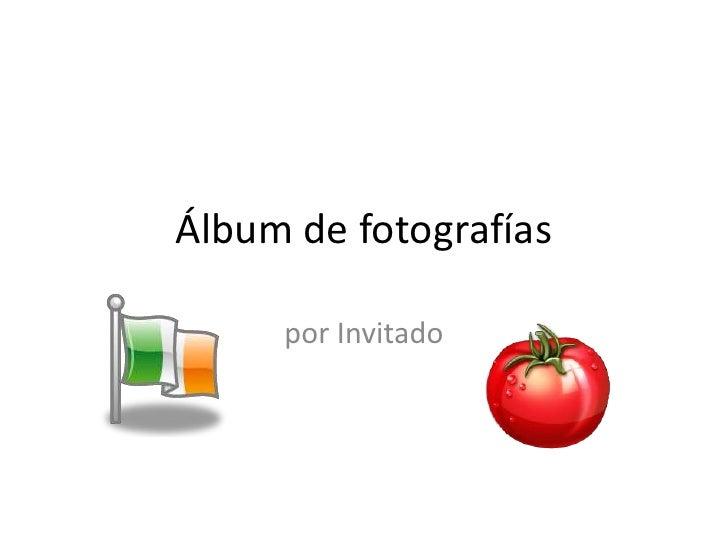 Álbum de fotografías<br />por Invitado<br />