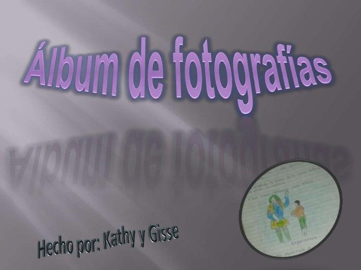 áLbum de fotografías