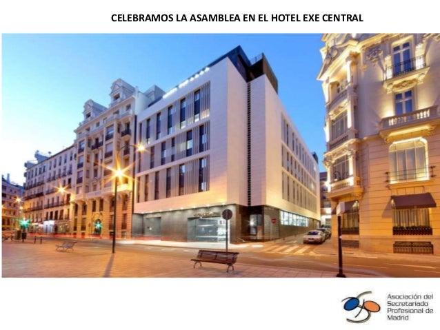 Álbum de fotografías por Claudia CELEBRAMOS LA ASAMBLEA EN EL HOTEL EXE CENTRAL