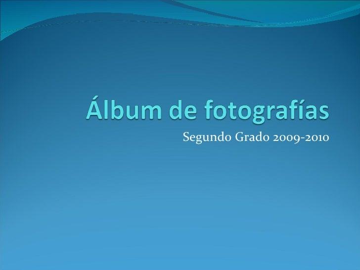Segundo Grado 2009-2010