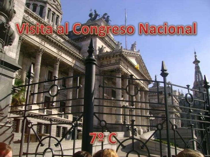 Visita al Congreso Nacional <br />7º C<br />