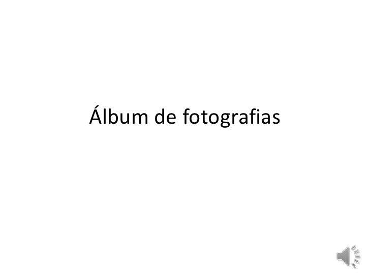 Álbum de fotografias