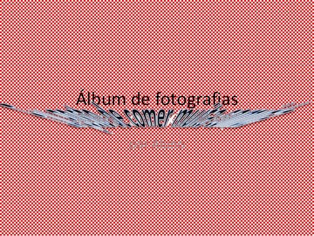 Álbum de fotografias      por Aluno