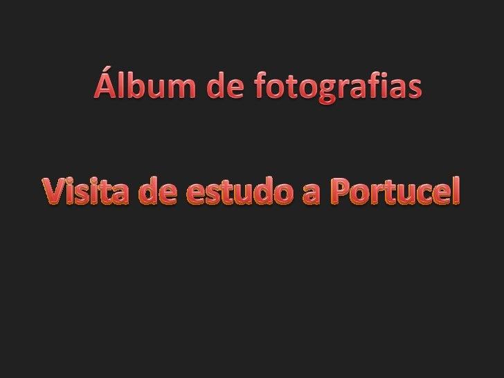áLbum de fotografias portucel