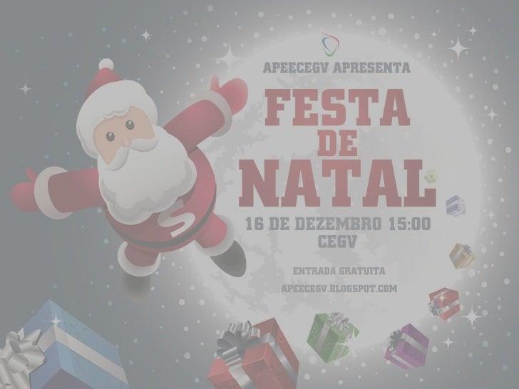 Álbum festa de natal CEGV 2012
