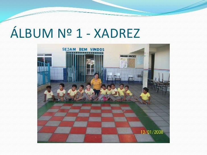 ÁLBUM Nº 1 - XADREZ<br />