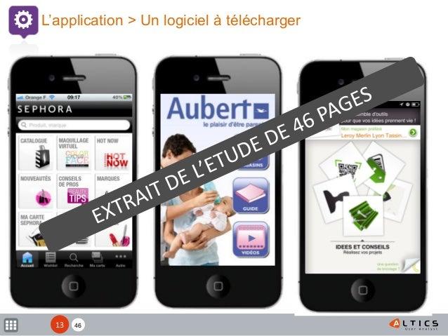 XX L'application > Un logiciel à télécharger 4613