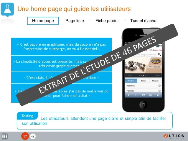 XX Une home page qui guide les utilisateurs « C'est pauvre en graphisme, mais du coup on n'a pas l'impression de surcharge...