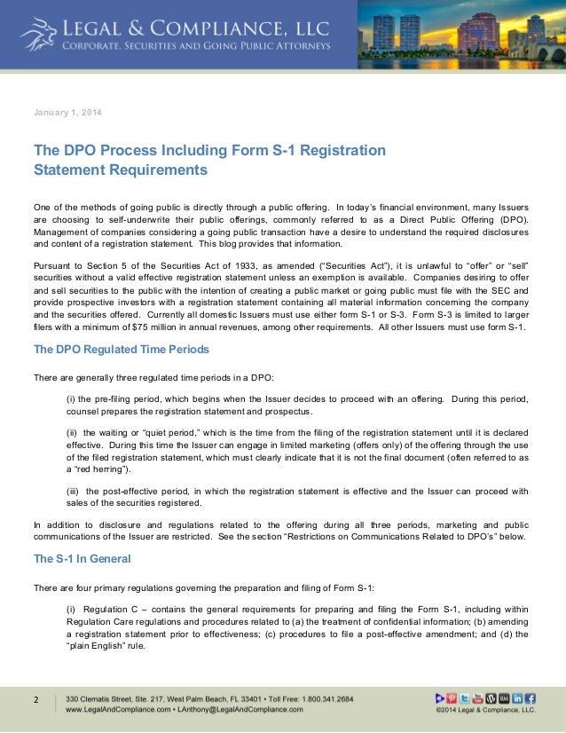 What Is A Shelf Registration Statement On Form S 3 - Popular Shelf ...