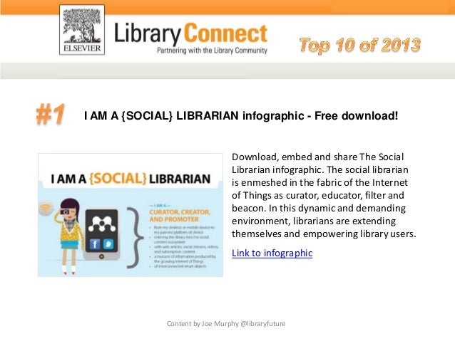 I AM A {SOCIAL} LIBRARIAN infographic - Free download! Download, embed and share The Social Librarian infographic. The soc...