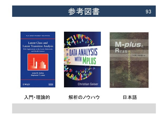参考図書  93 入門・理論的  解析のノウハウ  日本語