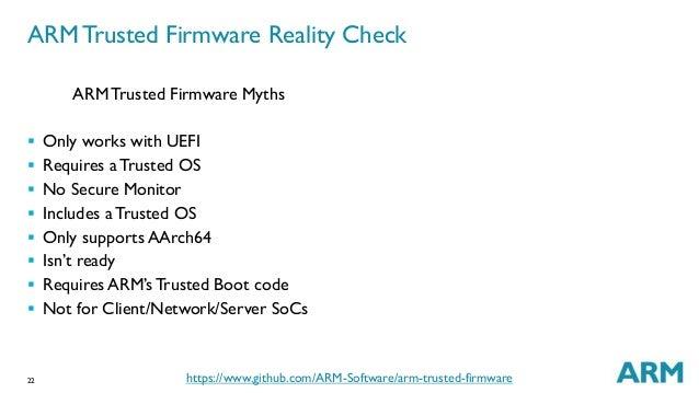 LCA14: LCA14-102: Adopting ARM Trusted Firmware