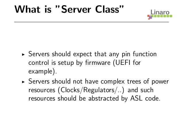 LCA14: LCA14-207: ACPI AML usage and ASL guidelines