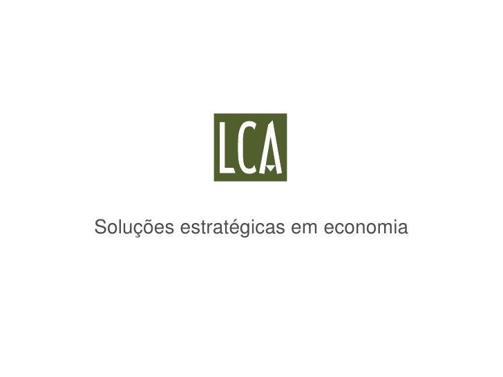 Soluções estratégicas em economia