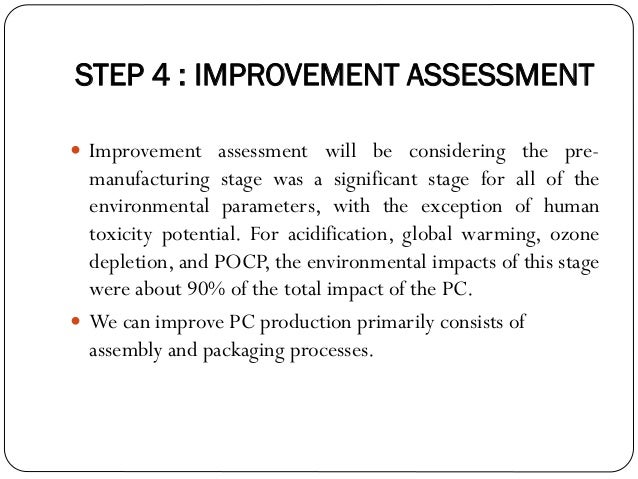 life cycle assessment of a computer mouse Embeds both market and technology factors based on the dynamic assessment of sales data the  and the computer and  product life cycle stages, product life .