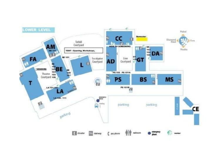 Aha Wahine Kuhinapapa 2012 Map of LCC