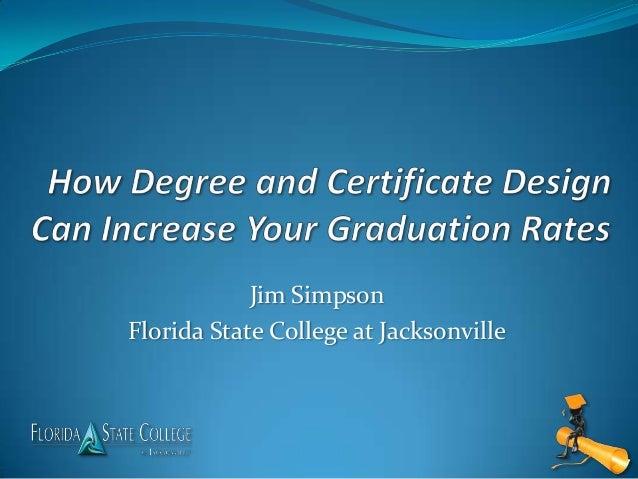 Jim SimpsonFlorida State College at Jacksonville