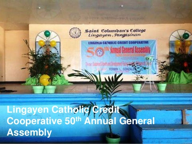 Lingayen Catholic Credit Cooperative 50th Annual General Assembly