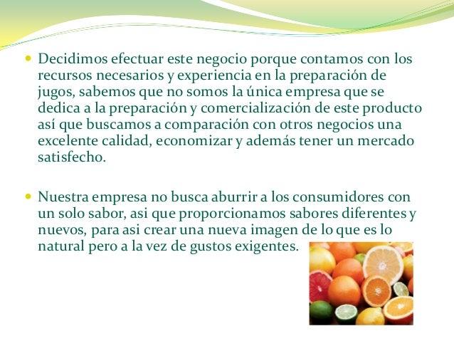 Lcc's frutis empresa Slide 3
