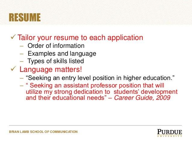 SlideShare  Skills Listed On Resume