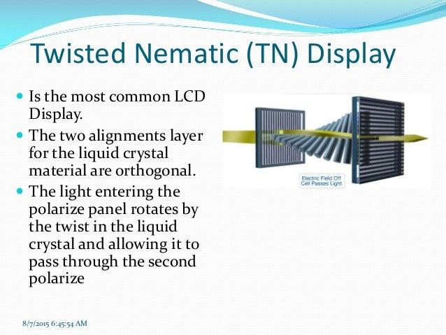 Liquid Crystal Display (LCD):... 16.,Lighting