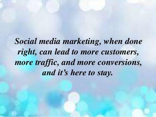 Social Media Marketing - 웹