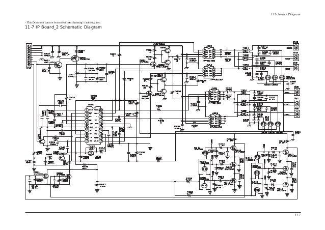 lcd samsung sp20 so la20s51b rh slideshare net samsung tv schematic diagram samsung crt tv circuit diagram
