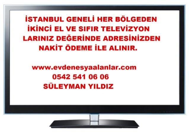 Esenkent 2.El Lcd Smart Tv Alanlar 0542 541 06 06-Elsidi Tv Alanlar Slide 3